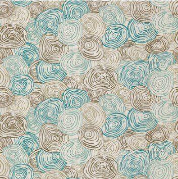 Английская ткань PP50395/2 Spiro Aqua/Stone Baker Lifestyle