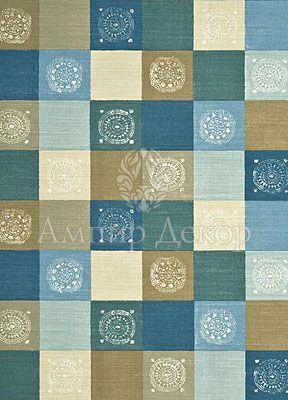 Ткань в квадраты, Англия PP50362/4 Baker Lifestyle