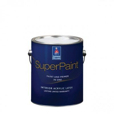 Суперматовая интерьерная краска для стен Super Paint Flat, кварта (0,95 л) Sherwin-Williams