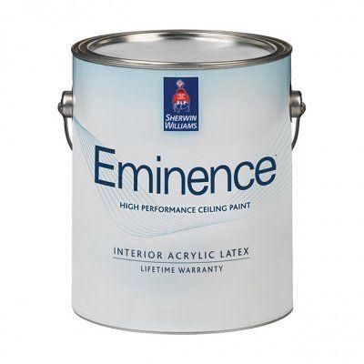 Потолочная краска Eminence High Performance Ceiling Paint глубокий мат 3,8 л Sherwin-Williams