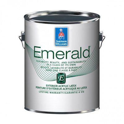 Фасадная краска Emerald Exterior Satin галлон (3,8л) Sherwin-Williams