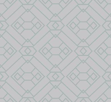 обои с нежно-зеленой геометрией 66540 Hookedonwalls