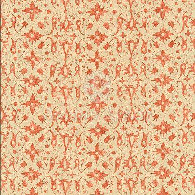 ткань с растительным дизайном 320484 Zoffany