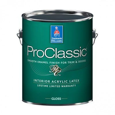 Эмаль для лепнины и металла ProClassic Interior Satin галлон (3,8л) Sherwin-Williams