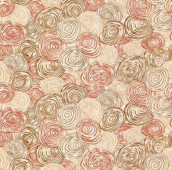 Ткань из Англии PP50395/6 Spiro Pimento/Cashew Baker Lifestyle