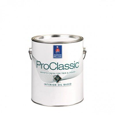 Эмаль для лепнины и металла ProClassic Alkyd Satin кварта (0,95л) Sherwin-Williams
