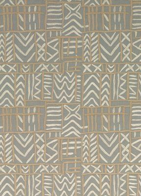 английская портьера в стиле Ар-Деко ED85216/930 Threads