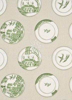 ткань с тарелками в японском стиле PP50329/3 Baker Lifestyle