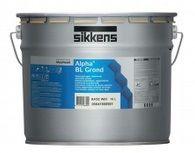Глубокоматовая грунтовочная краска (Грунт-Покрытие) для стен и потолков Alpha BL Grond Sikkens