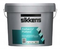 Глубокоматовая краска для потолков Alphacryl Plafond Sikkens