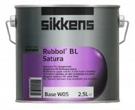 Полуматовая универсальная краска на основе полиуретанового связующего Rubbol BL Satura Sikkens