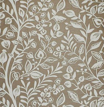 ткань с растительным орнаментом Wisley Nutmeg Voyage Decoration
