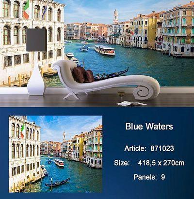 Обои KT Exclusive Metropolis 871023 Blue Waters KT Exclusive