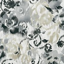 Фото: Обои Thibaut Bridgehampton T24344 Waterford Floral Charcoal- Ампир Декор