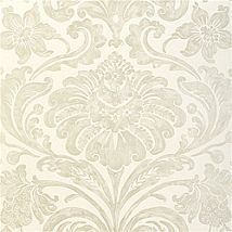 Фото: Обои Thibaut Filigree T2061 Maison damask Pearl on White- Ампир Декор
