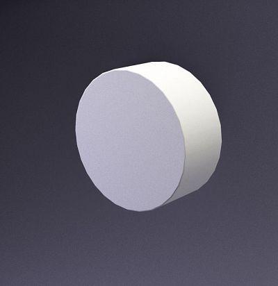 E-0019 3D  Disk-40 Дизайнерская панель ARTPOLE