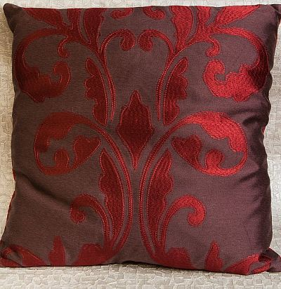 декоративная подушка из хлопка с вышивкой Shahrazad ZimmerRohde