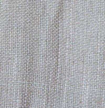 однотонная льняная ткань Arielli Silver Voyage Decoration