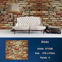 Фото: Обои KT Exclusive Metropolis 871036 Bricks- Ампир Декор