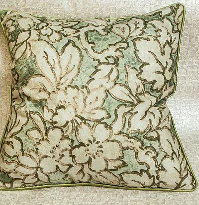 декоративная подушка с растительным дизайном Beardsley ZimmerRohde