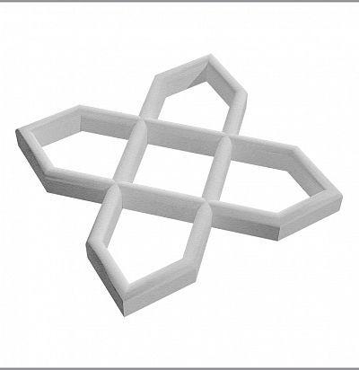 A 712 Орнамент (2 шт.) Декоративный элемент Зерн
