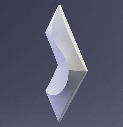 E-0042 3D  Coral Дизайнерская панель ARTPOLE