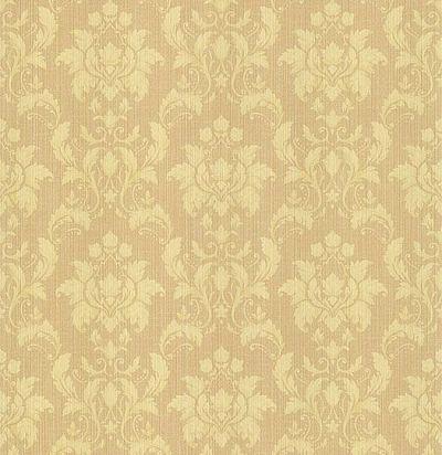 обои коричневые с дамасками CD001731 Chelsea Decor Wallpapers