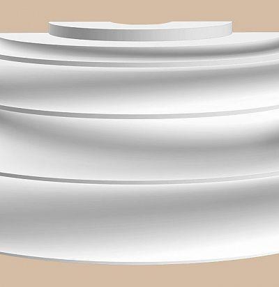 Лепнина из полиуретана 90024-4-H/2 Decomaster