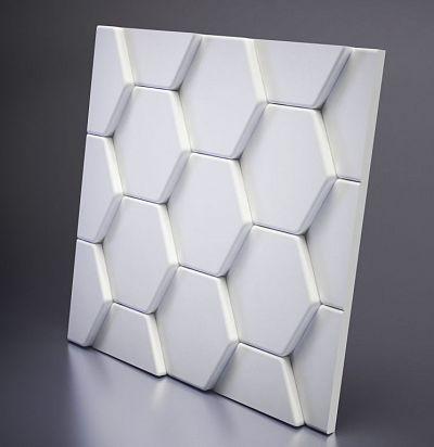 М-0040 3D Bee Дизайнерская панель из гипса ARTPOLE