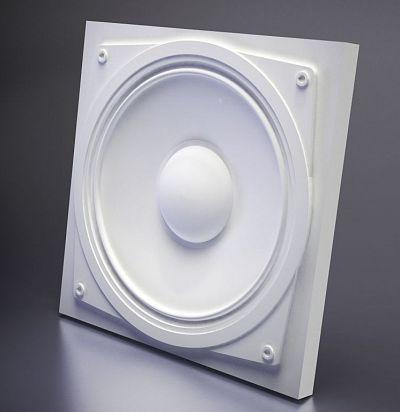 M-0003 3D  Sound Дизайнерская панель из гипса ARTPOLE