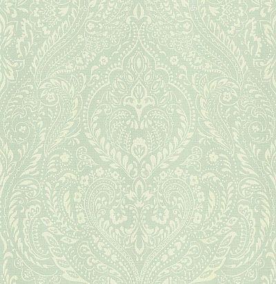 обои светло-зеленого оттенка CD002221 Chelsea Decor Wallpapers