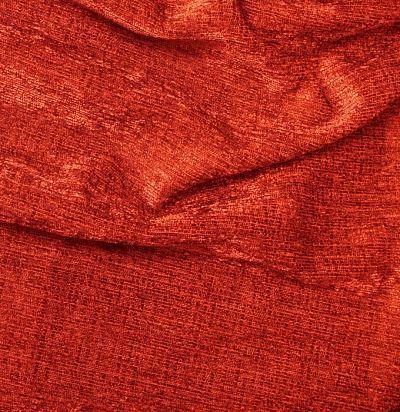 красная бархатная ткань для портьер 7033-03 F Volland