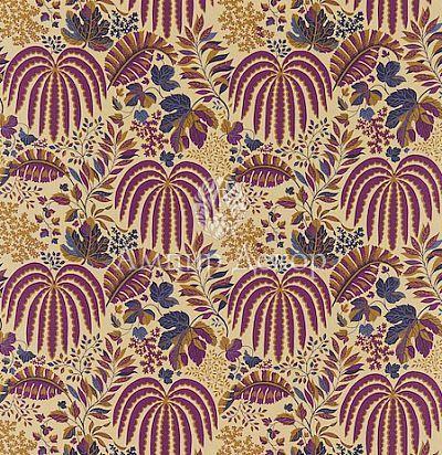 Ткань с листьями 221313 Sanderson