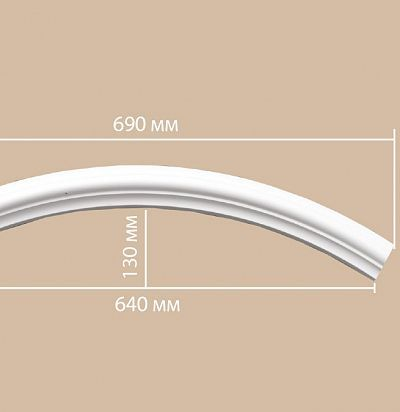Лепнина из полиуретана 897010-90//32 Decomaster