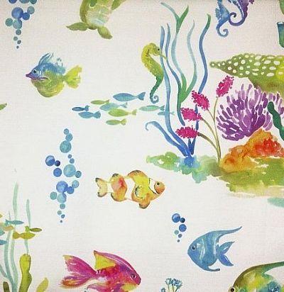 детские ткани Under The Sea White Voyage Decoration