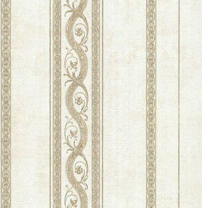 обои бежевые в полоску CD002565 Chelsea Decor Wallpapers
