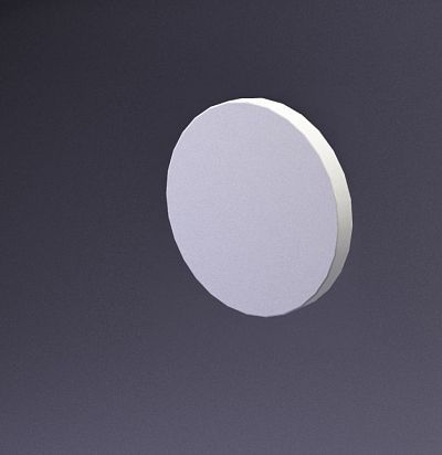 E-0016 3D  Disk-10 Дизайнерская панель ARTPOLE