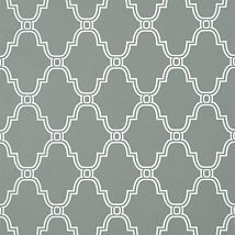 Фото: Обои Thibaut Graphic Resource T35123 Stanbury Trellis Charcoal- Ампир Декор