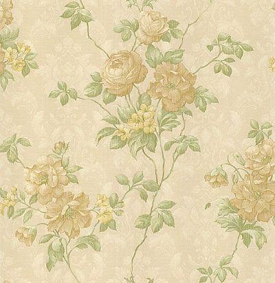 обои с цветами для гостиной CD001729 Chelsea Decor Wallpapers