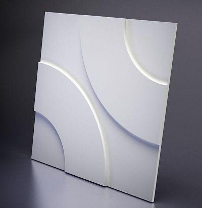 M-0022 3D  Hoop Дизайнерская панель ARTPOLE