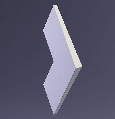 E-0041 3D  Nord Дизайнерская панель из гипса ARTPOLE