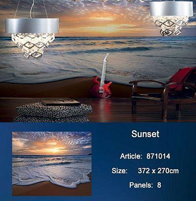 Обои KT Exclusive Metropolis 871014 Sunset KT Exclusive