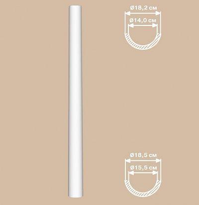Колонны из полиуретана 90118-H/2 Decomaster