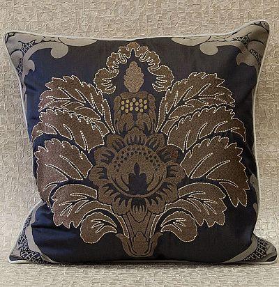 декоративная подушка с вышивкой Palazzo_plain ZimmerRohde