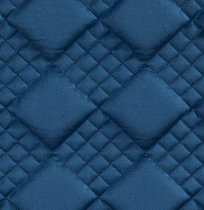 Стеганые обои  темно-синие дизайн Вафельный 20-015-121-00