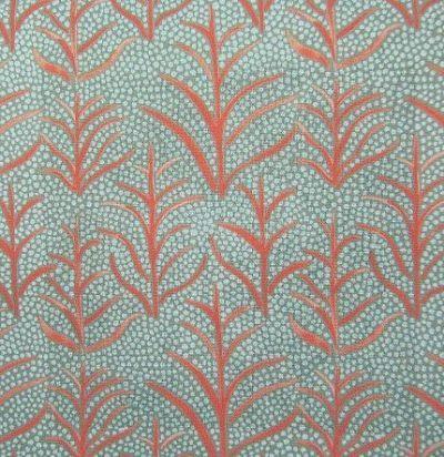 Ткань из Англии Simba Print Tangerine Voyage Decoration