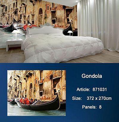 Обои KT Exclusive Metropolis 871031 Gondola KT Exclusive