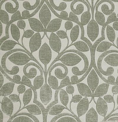 дизайнерская бархатная ткань Ishfahan Lichen Voyage Decoration
