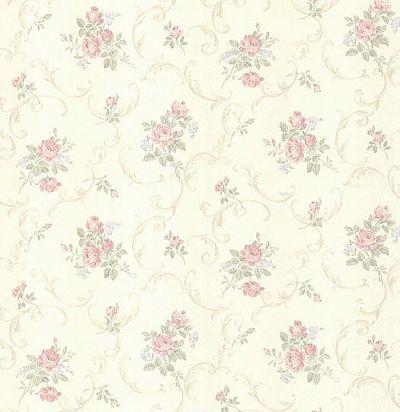 обои с цветочным орнаментом CD001747 Chelsea Decor Wallpapers