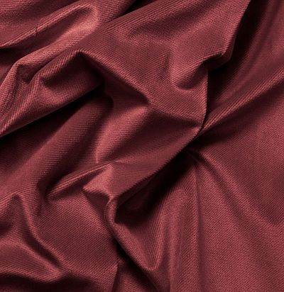 Бархатная ткань без узора 3951-57 F Volland